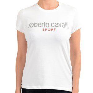 """Roberto Cavalli """"Sport"""" Women's White T-Shirt"""